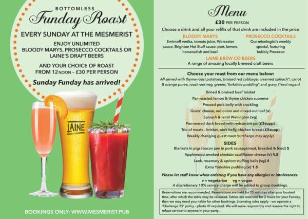 Sunday Roast event details