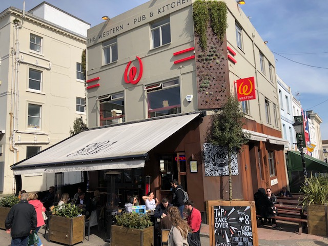 The Western Brighton exterior