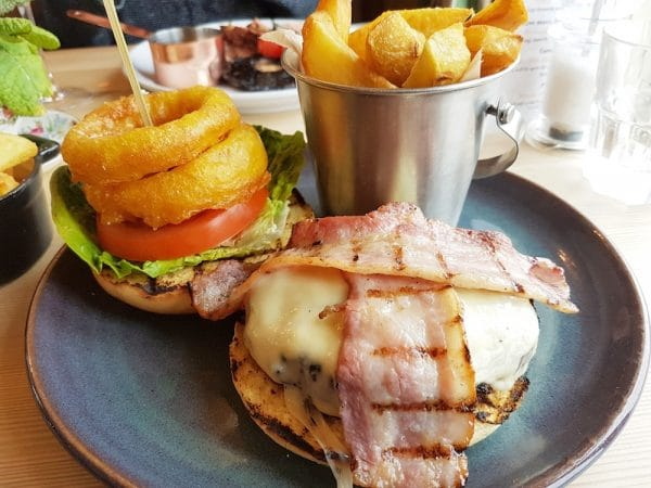 Burger at The Sussex Ox