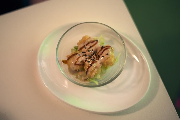 tofu tempua at tropical sushi