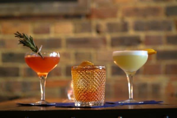 Trio of Cocktails at The Salt Room. cocktails brighton. Brighton restaurant awards.