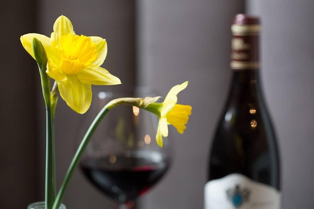 Wine at Bistro Nantais Brighton