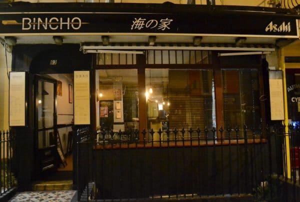 Bincho Yakitori Brighton.best restaurants in Brighton. Brighton Restaurant Awards