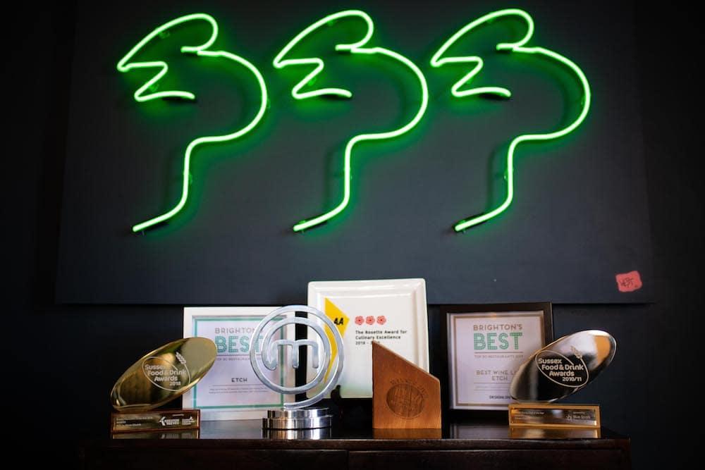Etch. Brighton Restaurant Awards