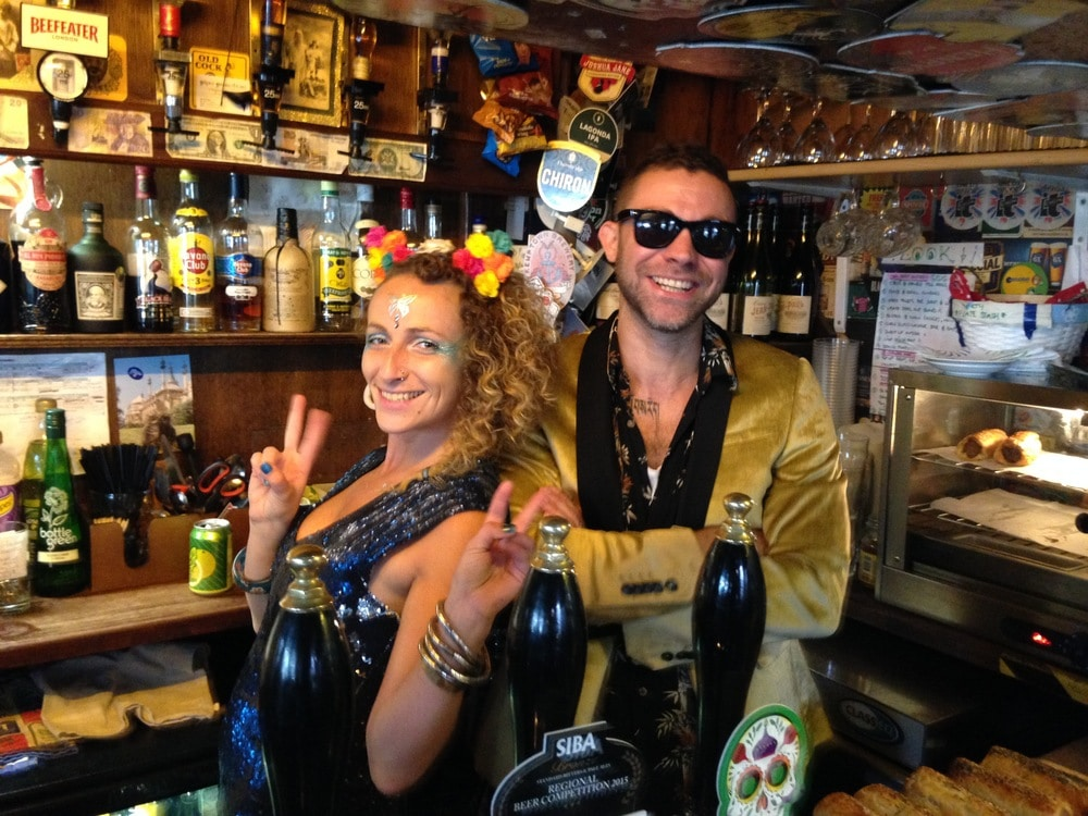Staff at the Hand in Hand in Brighton