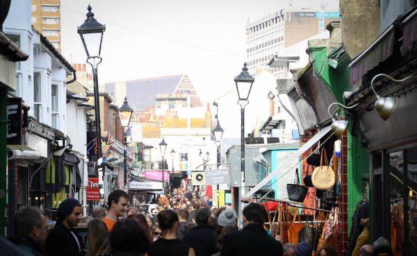 North Laine Brighton - Whats on Brighton - Bank Holiday Brighton - Brighton Festival