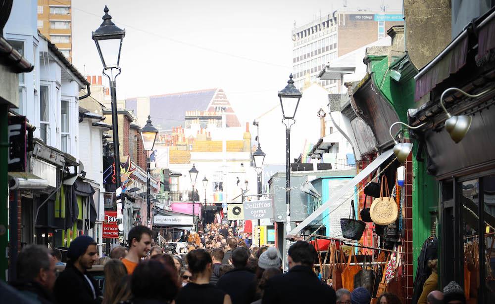 North Laine Brighton - Whats on Brighton