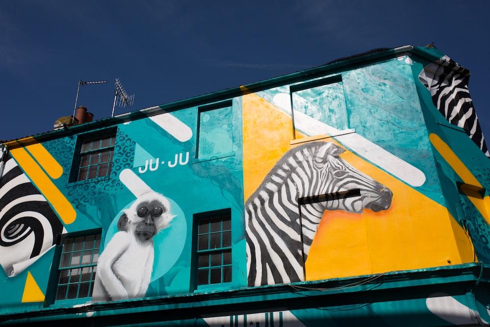 Graffiti - North Laine Brighton