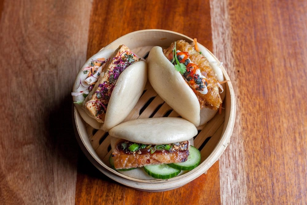 Bao Buns at The Pond in Brighton