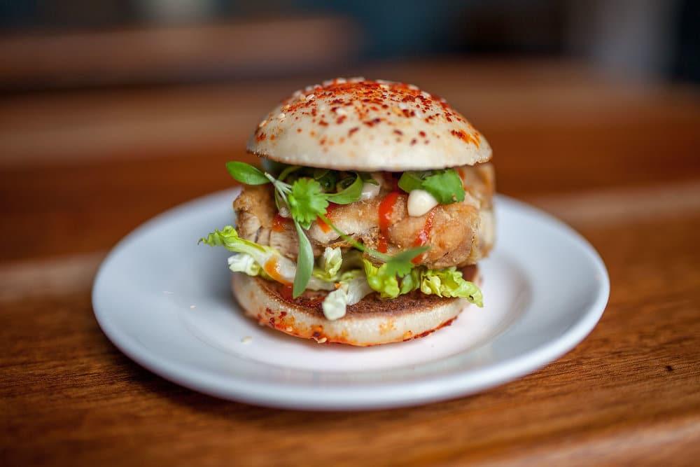 Bao Burger at The Pond in Brighton