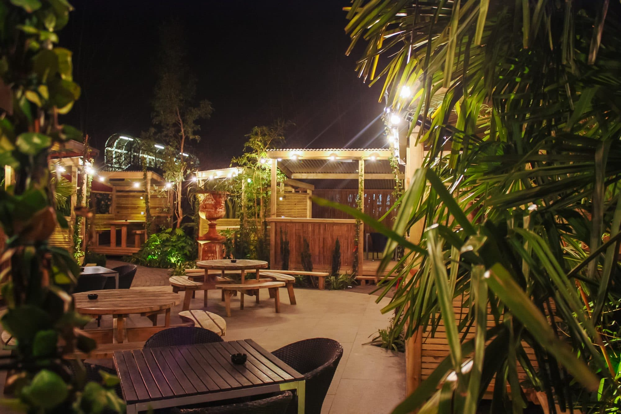 Garden at The Open House in Brighton, Gastro Pubs Brighton