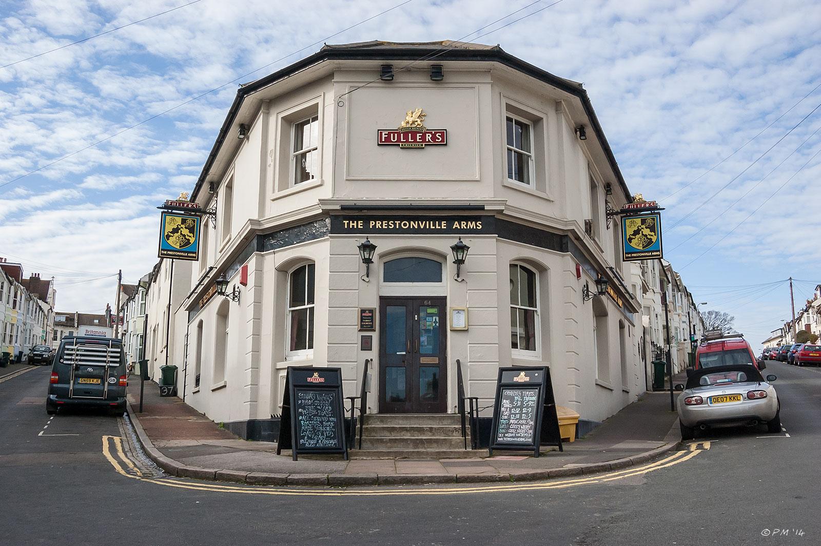 Prestonville Arms in Brighton, Gastro Pubs Brighton