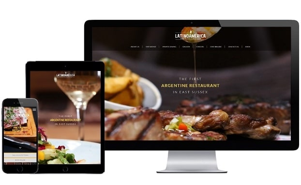Brighton Website Design - LatinoAmerica in Hove