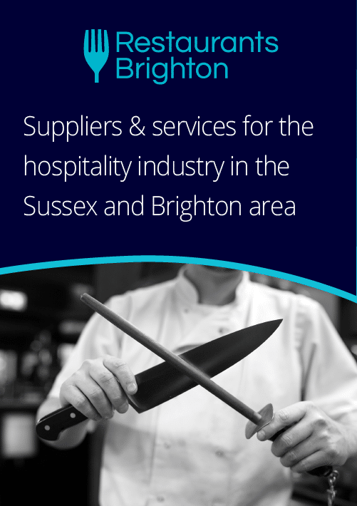 Suppliers & services for the hospitality industry in the Sussex and Brighton area