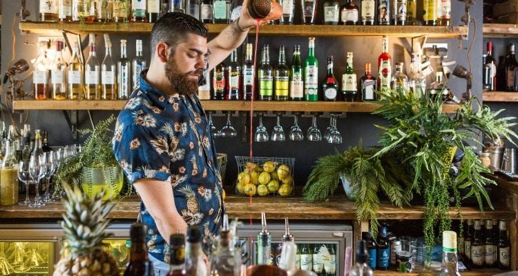 The Fix bar in Brighton