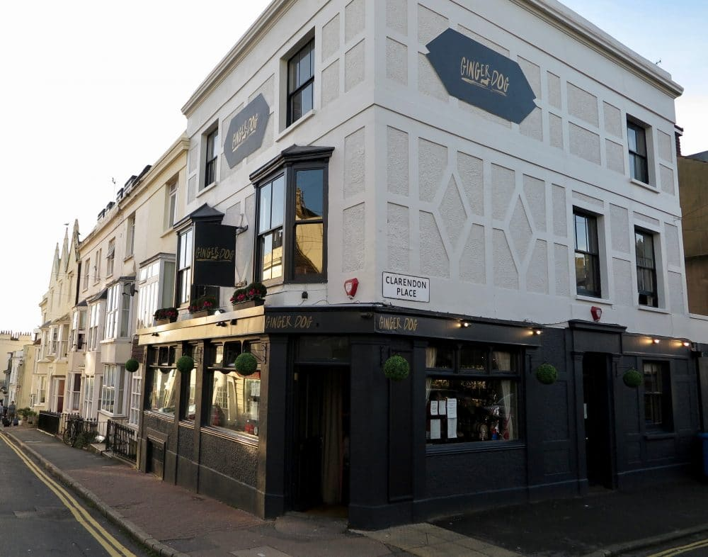 The Ginger Dog in Brighton, Gastro Pubs Brighton