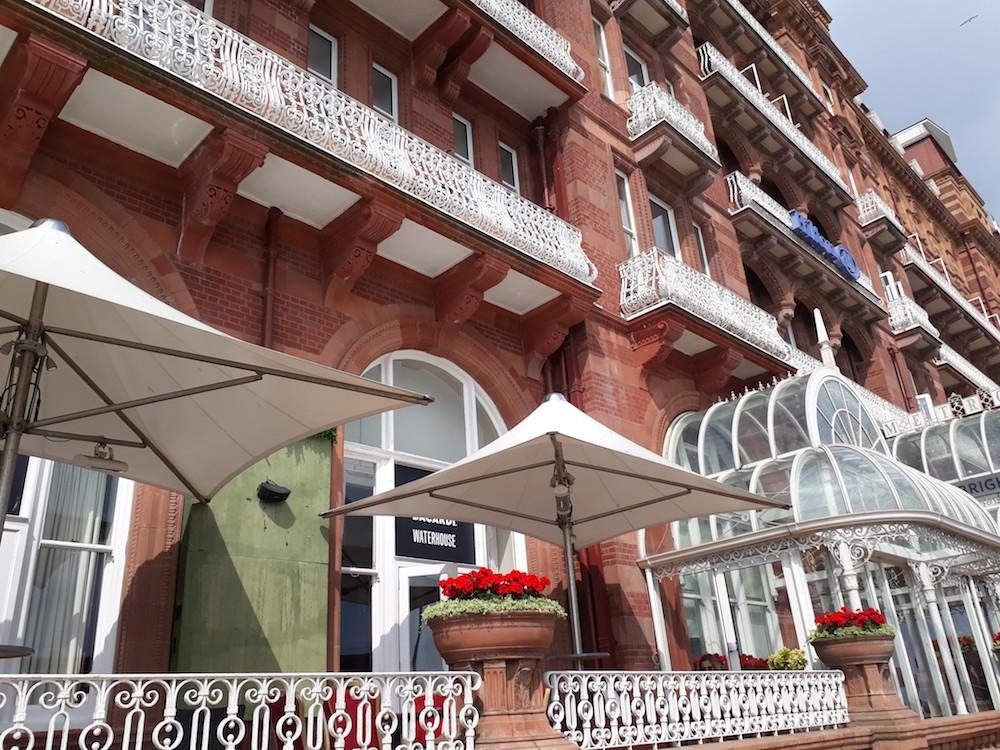 The Hilton exterior Brighton - The Hilton Metropole Brighton