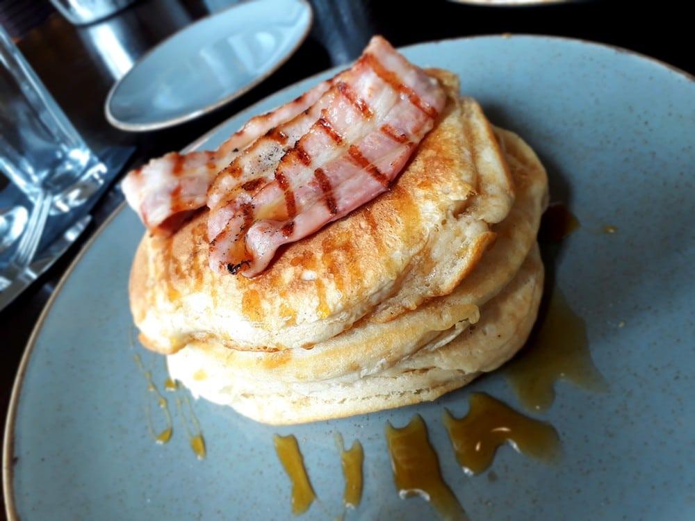 Pancakes at Hilton Metropole Hotel Brighton - The Hilton Metropole Brighton