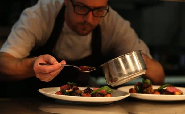 Chef at Jeremy's Restaurant - Best Restaurants Sussex. Brighton Restaurant Awards
