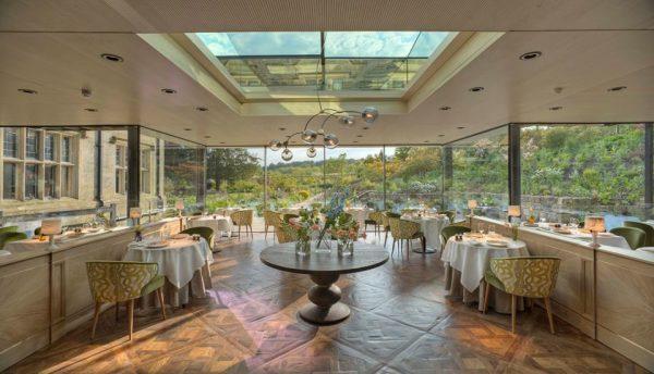 Dining Room at Gravetye Manor