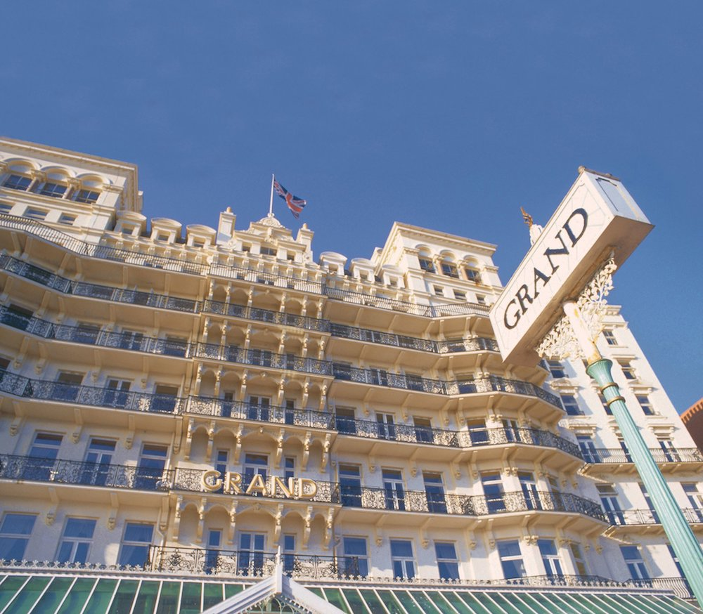 Exterior at The Grand Hotel