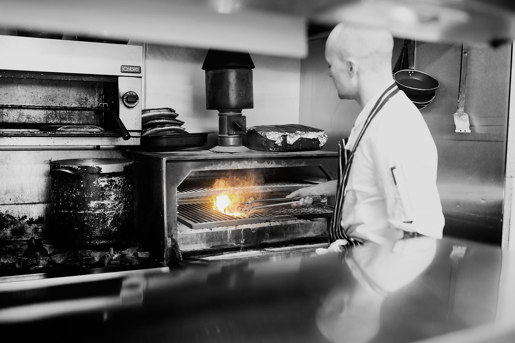 The Josper grill - The Coal Shed in Brighton