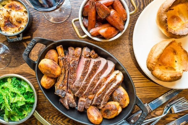 The Coal Shed. Sunday roast Brighton. Brighton Restaurant Awards