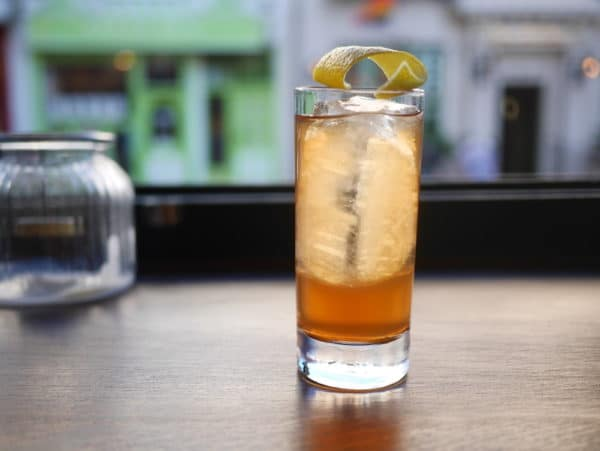 Tomato drink at GungHo Bar Brighton