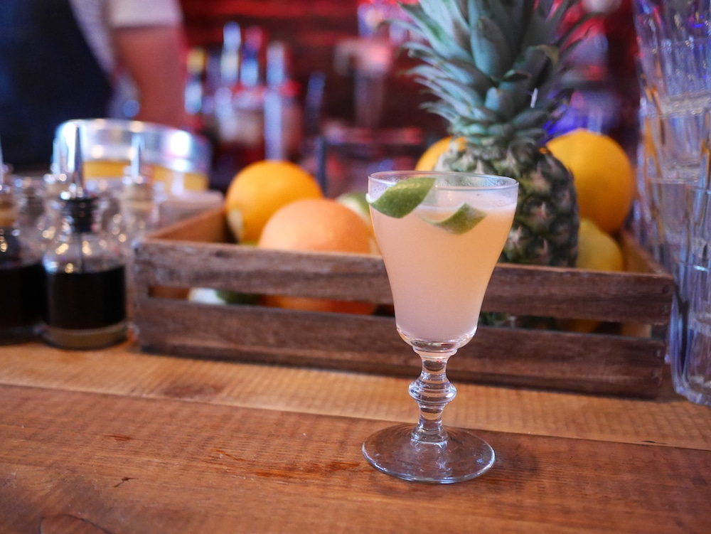 Strawberry cocktail at GungHo Brighton