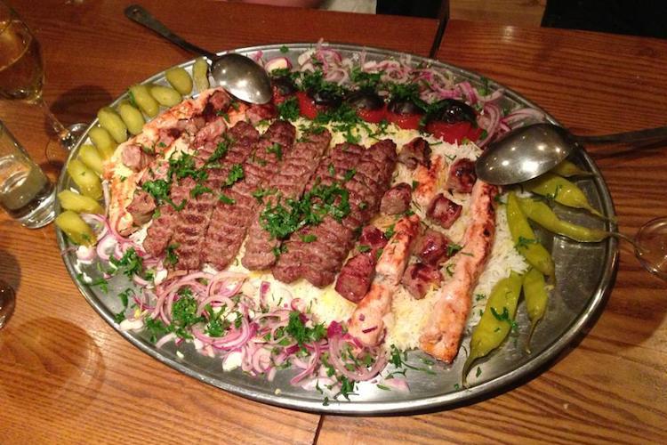 Persian restaurant Brighton Kambis