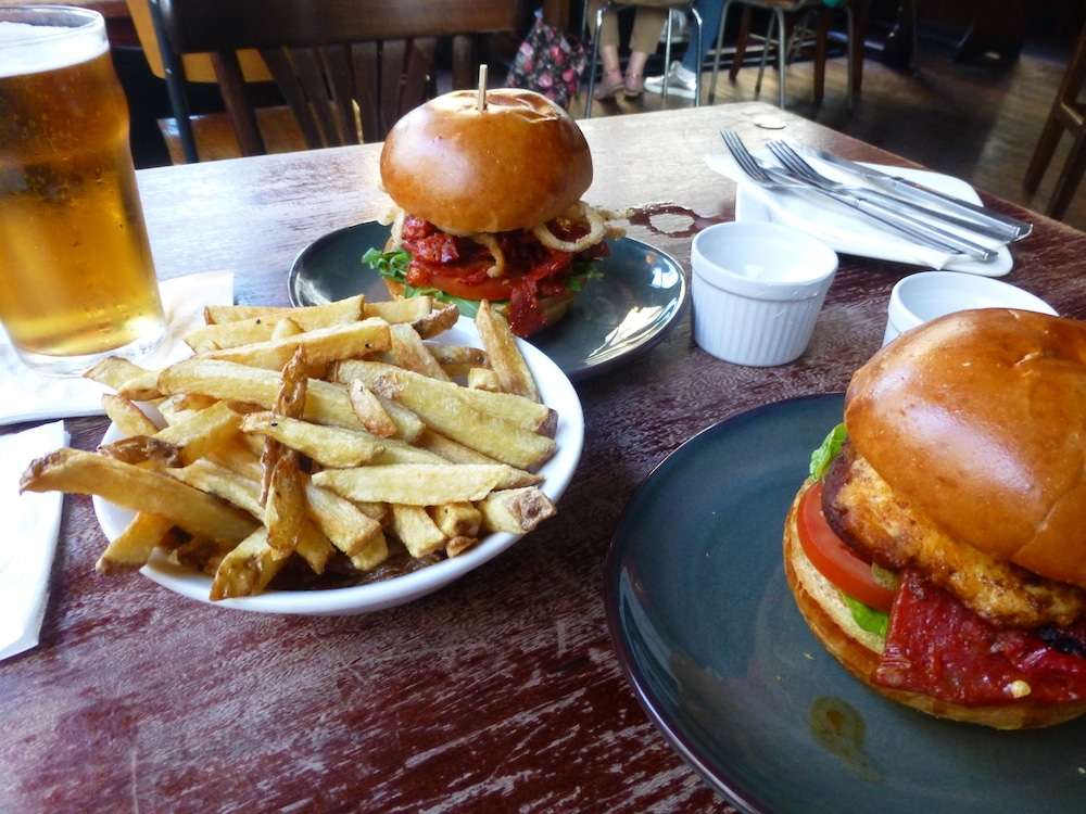 Burgers at The Mesmerist