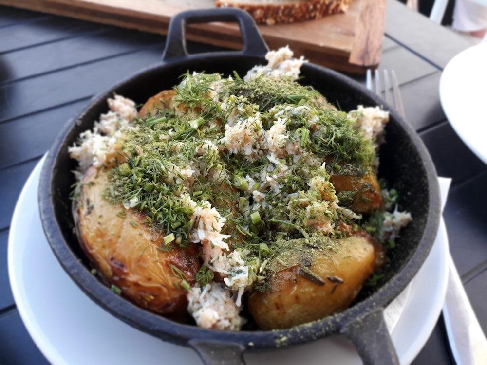 Side dish at Flour Pot Kitchen in Brighton