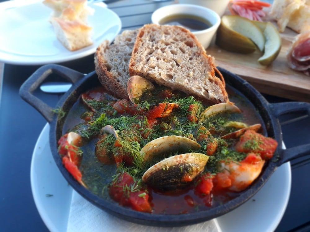Fish stew at Flour Pot Kitchen