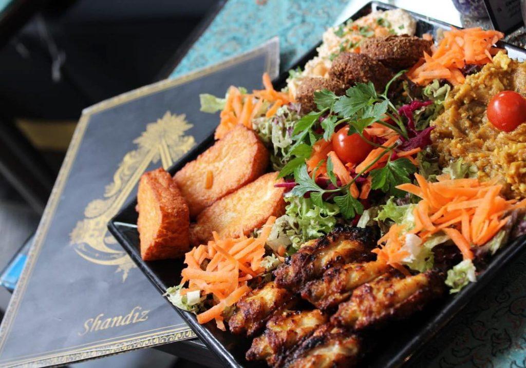 Shandiz Persian food