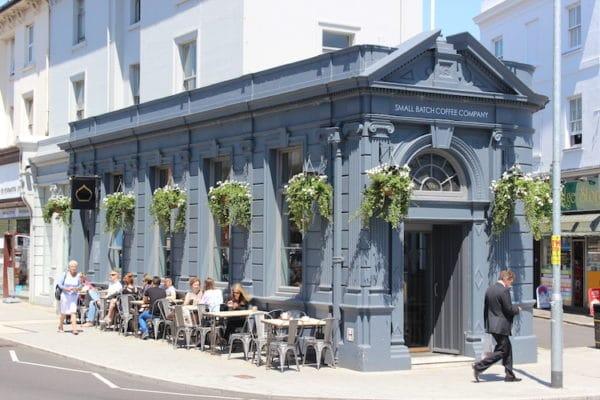 Small Batch Coffee Brighton Seven dials shop