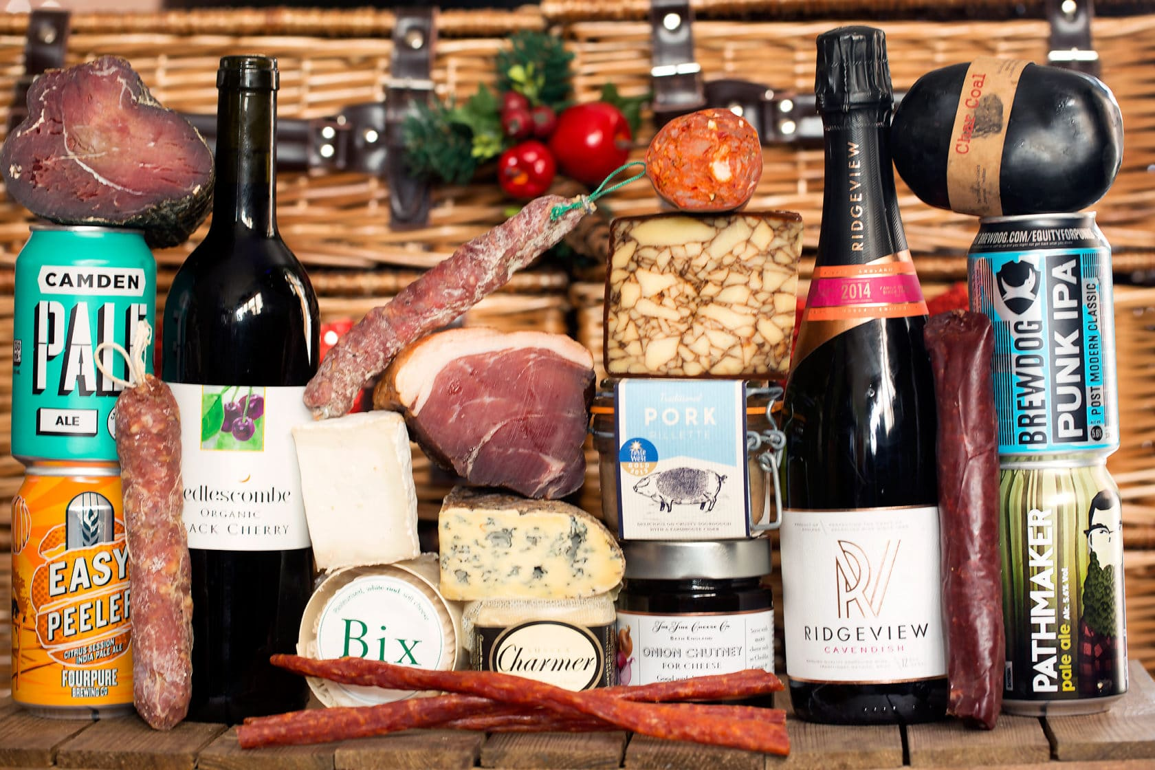 The Great British Charcuterie Christmas Hamper