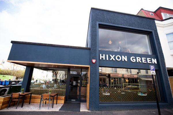 Hixon Green. Best cafes Brighton. Brighton Restaurant Awards
