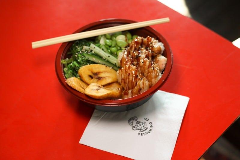 Poke Bowl at Tropical Sushi