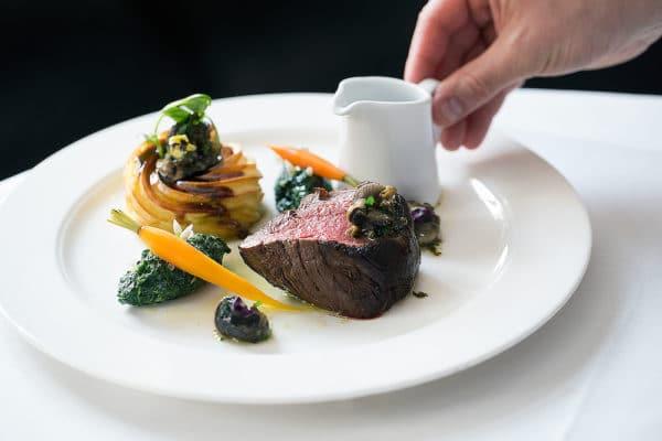 Steak at Drakes. Best Restaurant Brighton. Brighton Restaurant Awards