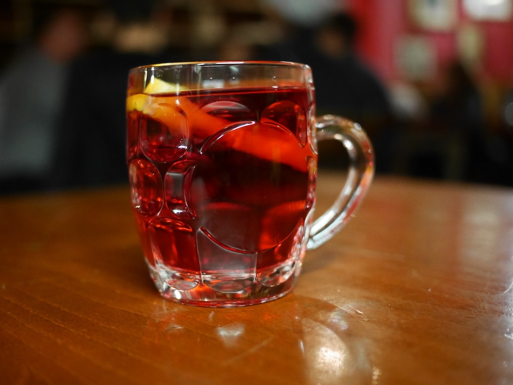 Mulled Cider at The Cricketers Brighton