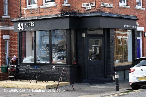 44 poets Brighton. Best cafes Brighton. Brighton Restaurant Awards