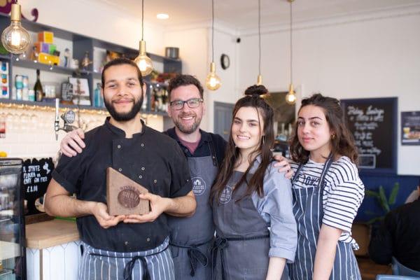 Starfish and Coffee - Brighton Restaurant Awards Winners of Best Brunch. Brighton Top 20