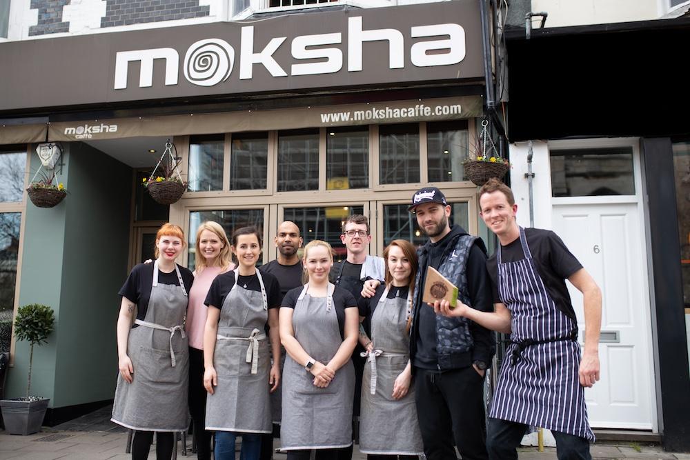 Moksha Caffe - winner of Best brunch at the Brighton Restaurant Awards. Top 20