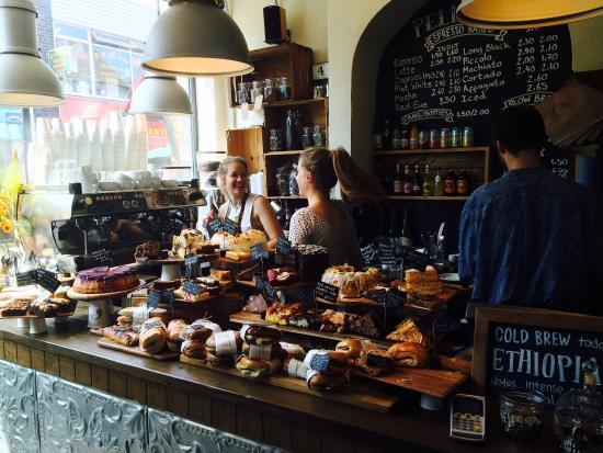 Pelicano Brighton. Best cafes Brighton. Brighton Restaurant Awards
