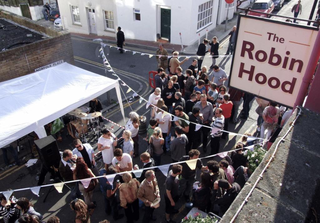The Robin Hood Brighton
