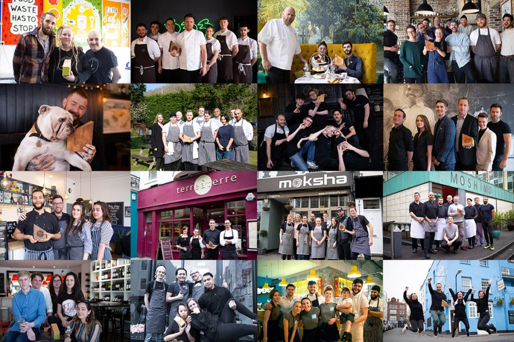 Brighton Restaurant Awards Winners