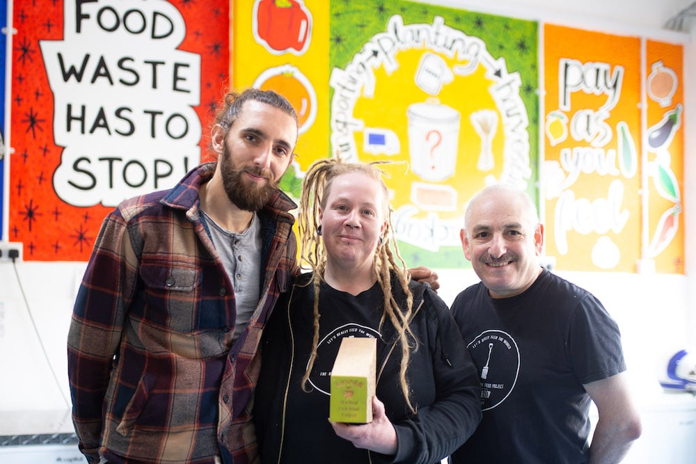 Junk Food Cafe - The Real Junk Food project - Winners of Eat Well for Less