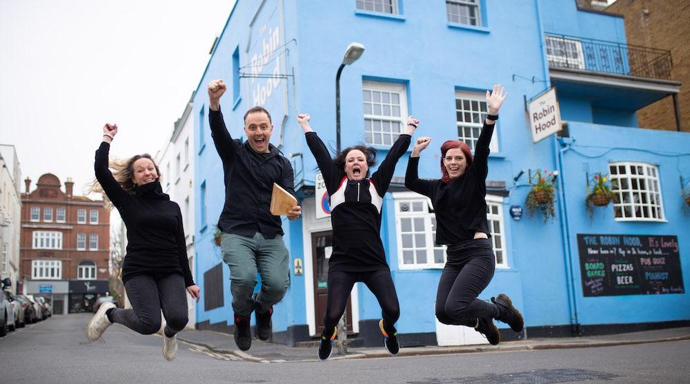 The Robin Hood Brighton - Winners of best pub, Brighton restaurant Awards