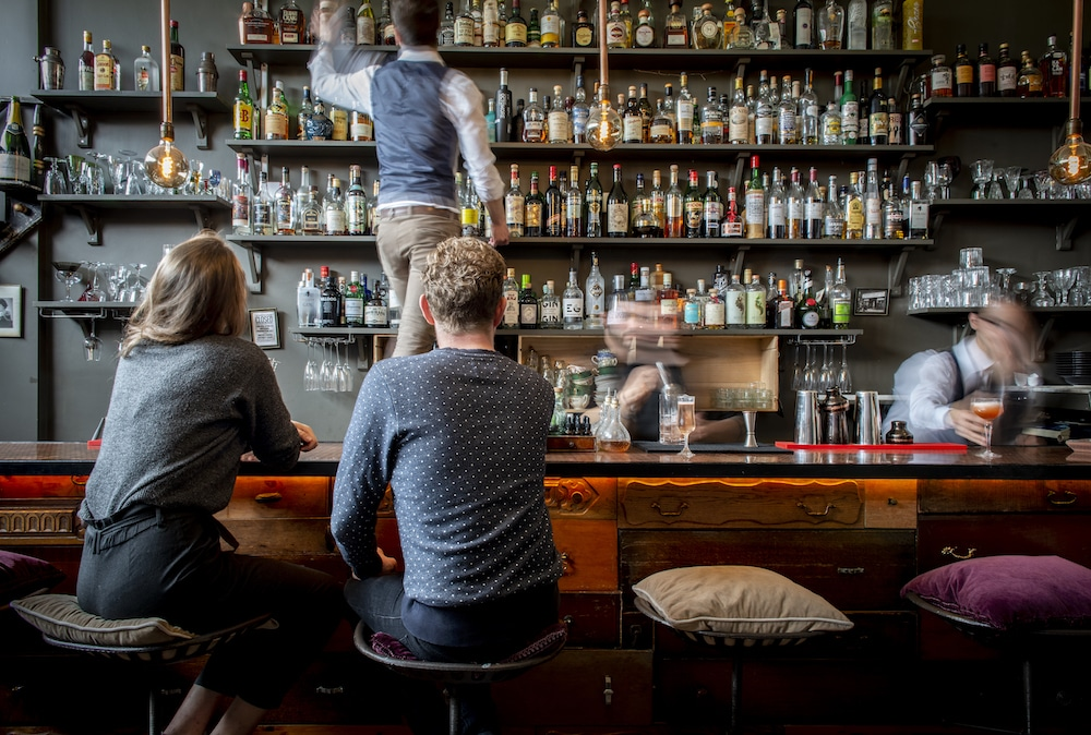 Cocktails at L'Atelier Du Vin
