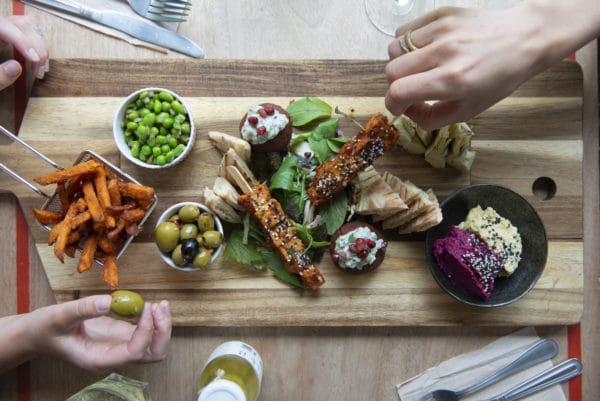 Plant Based Sharing Food Platter